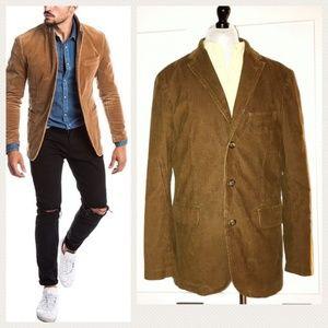 J. Crew Vintage Cord Mens Brown Corduroy Jacket